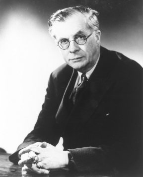 Julian Huxley, coiner of 'transhumanism'